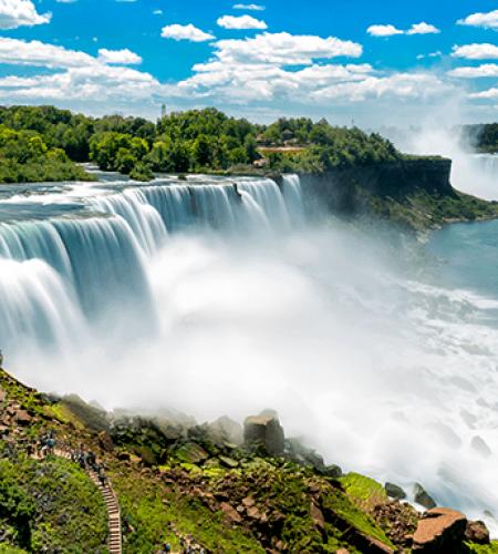 Vacances aux chutes du Niagara